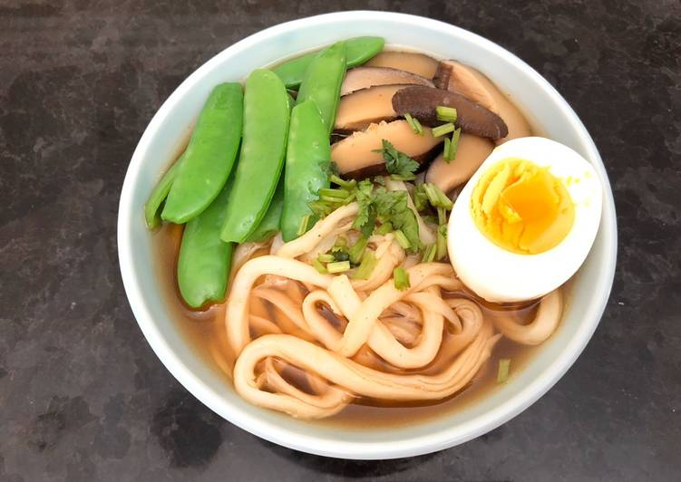 Easy Homemade Udon Soup