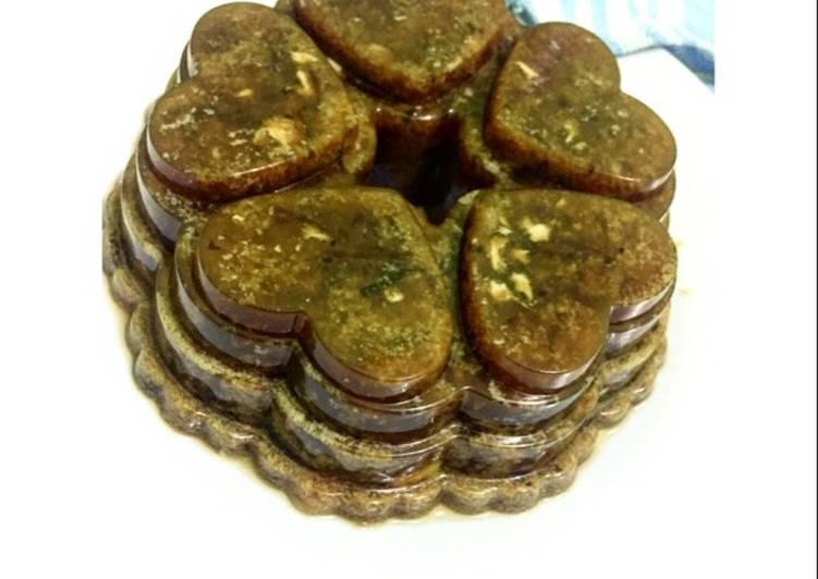 Pudding lumut nangka