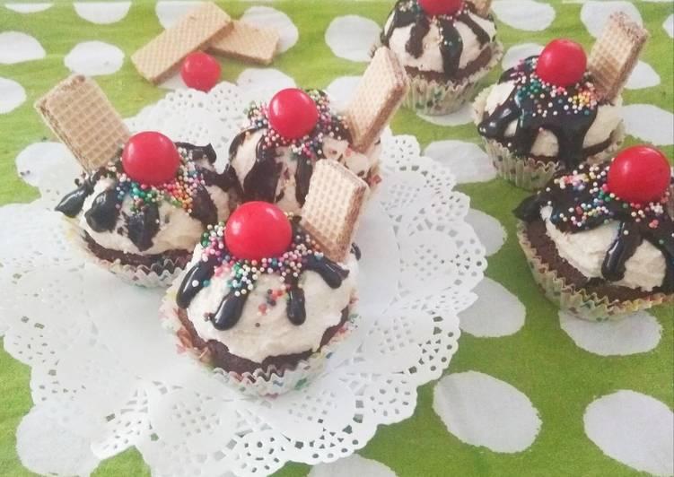 Recipe: Tasty Sundae Cupcakes