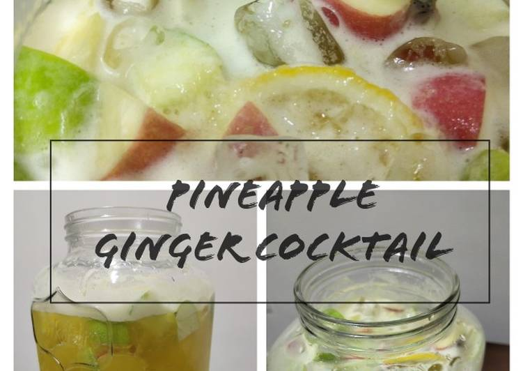 Pineapple Ginger Cocktail - resepipouler.com