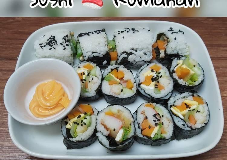 Sushi 🍣 Rumahan Seadanya 🍣 Simple 💕