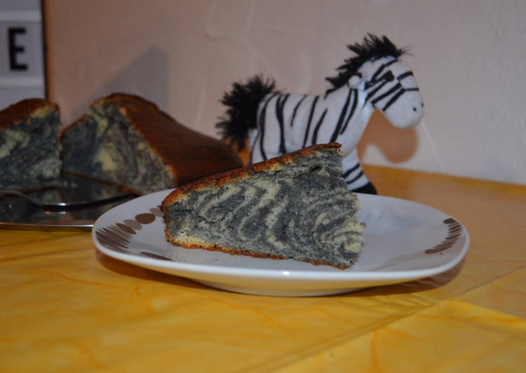 Comment Faire Des Zebra Cake