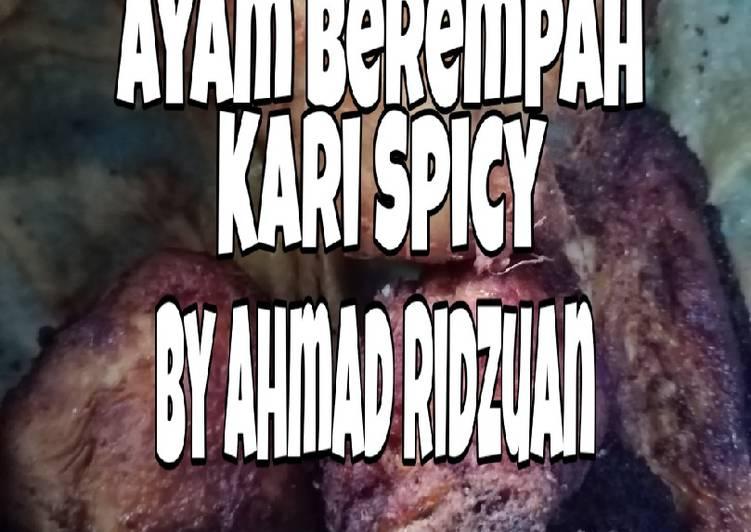 Ayam Berempah Kari Spicy - velavinkabakery.com