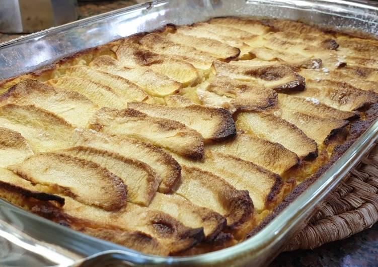 Tarta de manzana dietética (apto para gastritis)