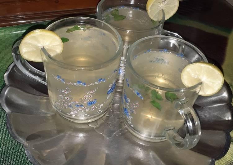 Old Fashioned Dinner Easy Speedy Fresh Mint Green Tea