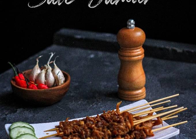 Resep Sate Jamur Anti Gagal