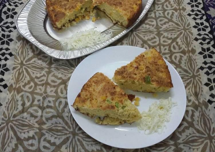 Recipe of Any-night-of-the-week Cheesy Mexican Cornbread.. #Baking