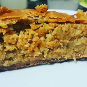 Empanada gallega de merluza