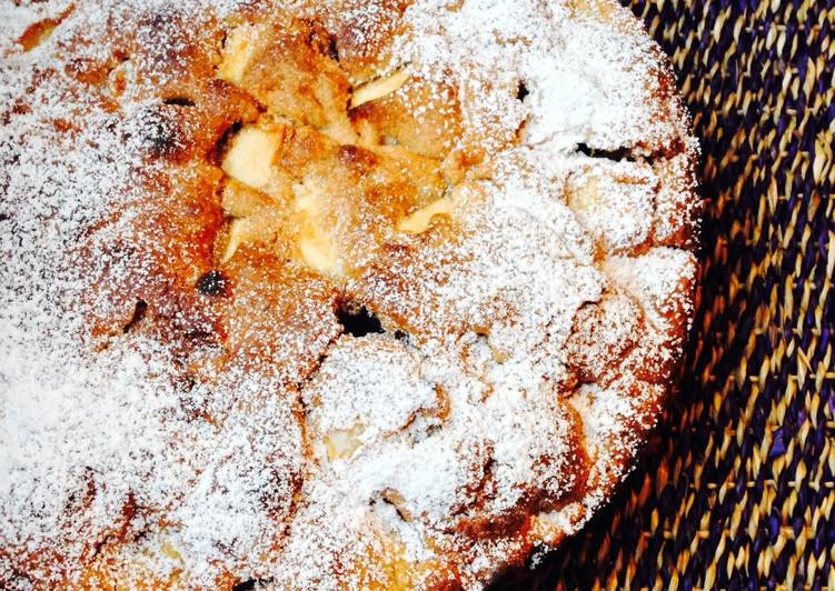 Apple Cake - a one bowl recipe