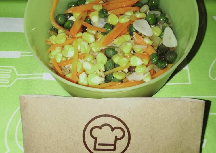 177. Tumis Aneka Sayuran Sehat by Uliz Kirei