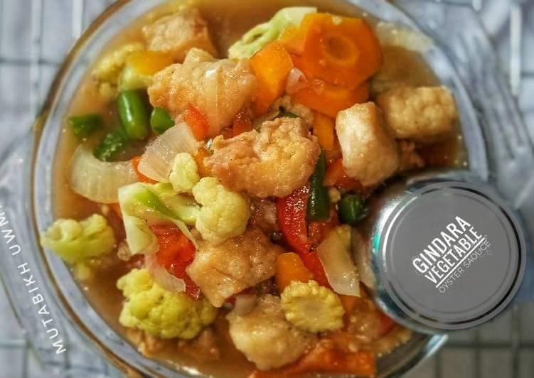 Gindara Vegetable Oyster Souce