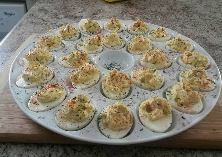 Angel Eggs with Bacon and Jalapenos
