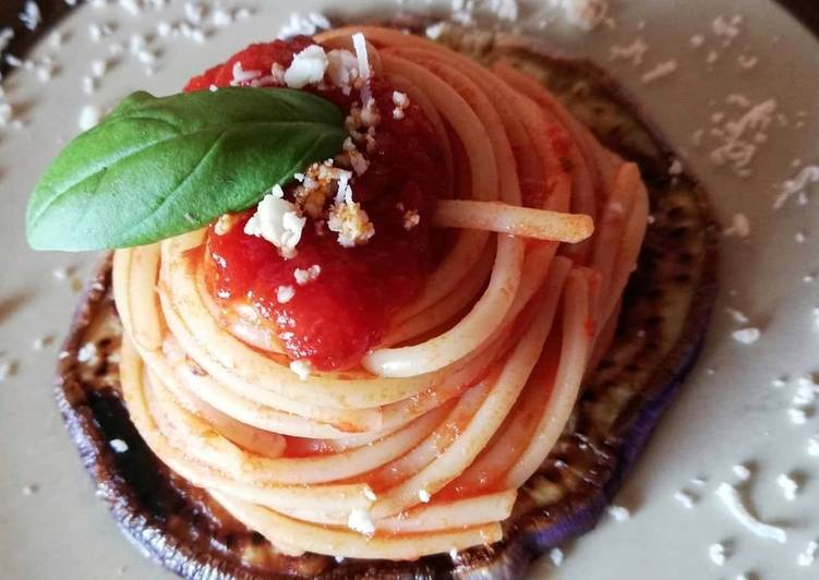 Spaghetti alla norma 🌷