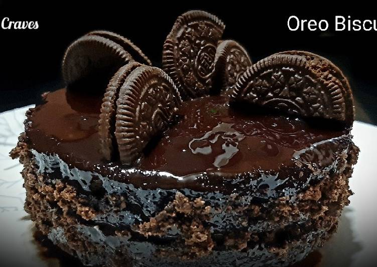 Oreo Biscuit Cake