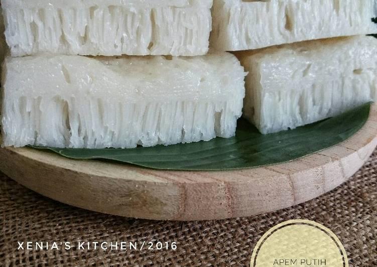 Apem Putih/Pak Thong Koh/Steamed White Sugar Cake - ganmen-kokoku.com