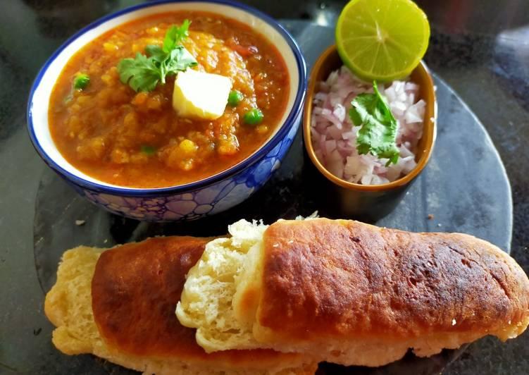 Easiest Way to Make Homemade Pav bhaji