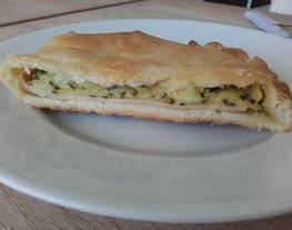 Empanada diferente con calabacín y queso de cabra??