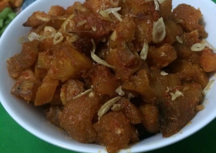 Sambel goreng krecek & kentang