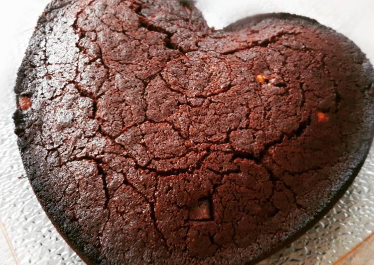 La Meilleur Recette De Brownie aux 3 chocolats sans beurre sans lait