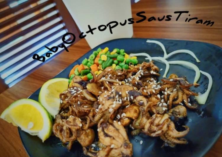 Baby Octopus Saus Tiram