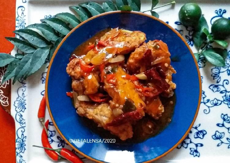 Ayam Masak Cili Kering Chinese Style - velavinkabakery.com