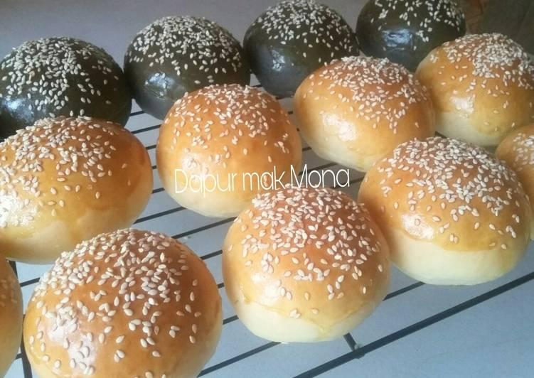 Resep Roti burger oleh Dapur Mak Mona - Cookpad