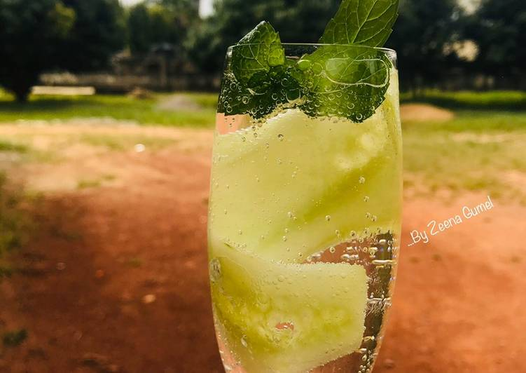 Choosing The Right Foods Can Help You Stay Fit And Also Healthy Cucumber Mojito Mocktail