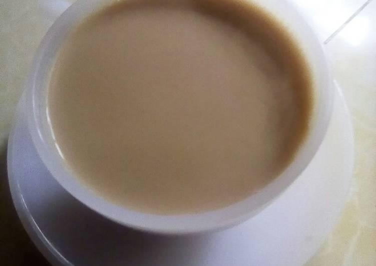 Easiest Way to Prepare Homemade Ginger, black pepper, cardamom and cinnamon flavored tea
