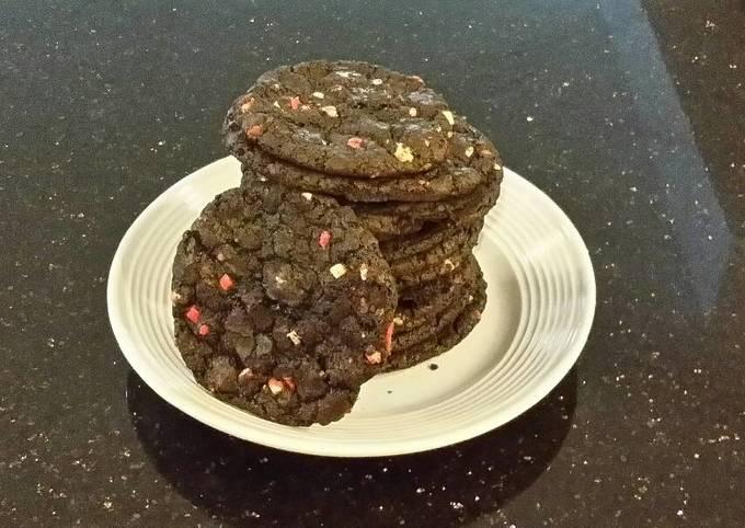 Milk Chocolate Mint Chip Cookies