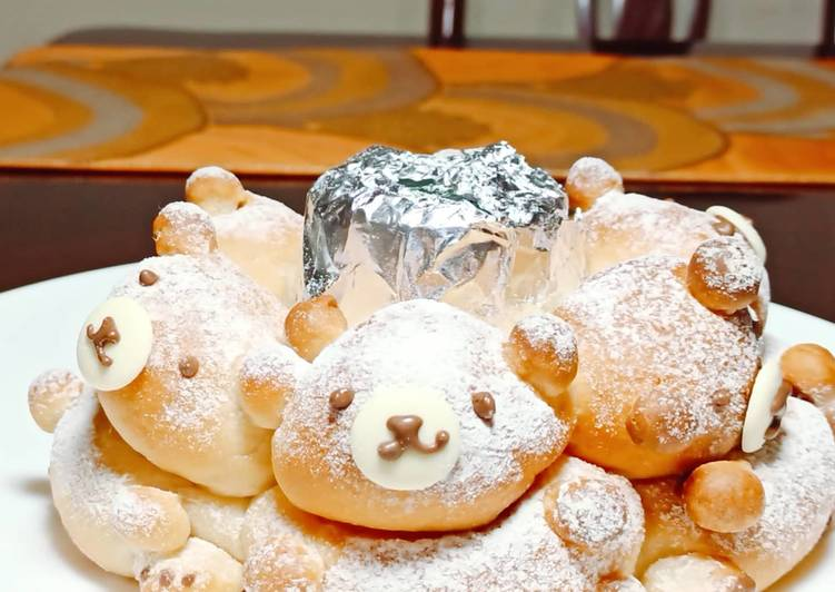 Step-by-Step Guide to Make Homemade Milk Bear Loaf