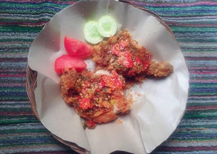 Resep Ayam Geprek Bensu (KW) #RabuBaru Anti Gagal