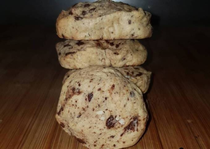 Cookies chocolat / amande