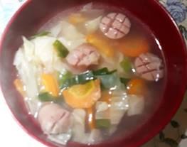 Simple soup kesukaan anak anak