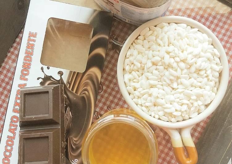 Ricetta Cioccolato al riso soffiato