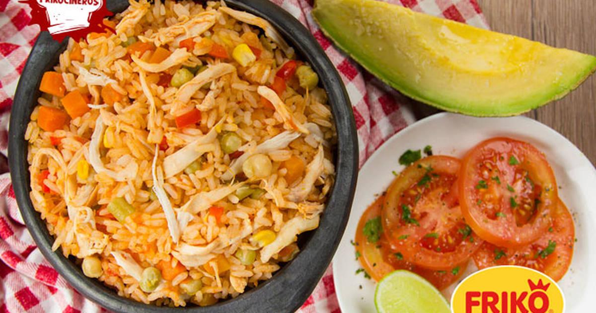 Arroz Con Pollo Colombiano Receta De Momentosfriko Cookpad