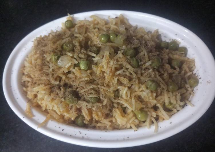 Easiest Way to Make Favorite Instant one pot peas pulav