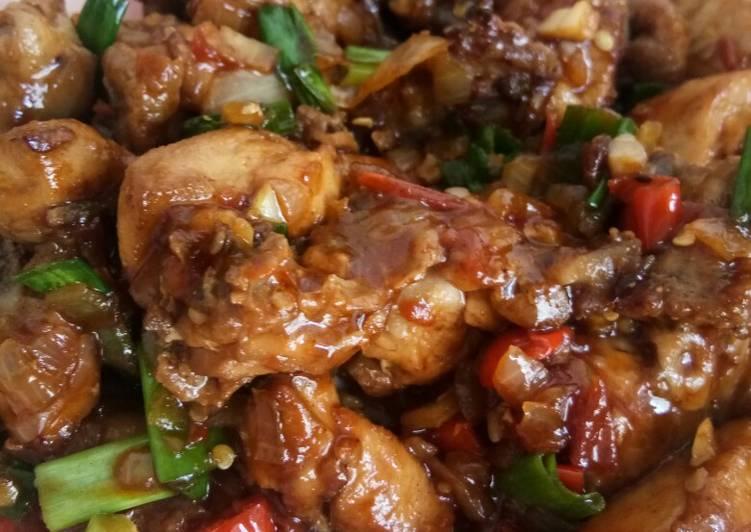 Resep Ayam Rica Ala Chinesse Food Resto yang Menggugah Selera