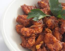 Ayam crispy lada hitam / ayam lada hitam