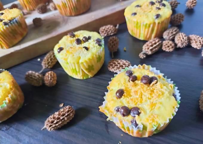 Resep Muffin Keju Tanpa Mixer Oleh Dewi Isyaroh Cookpad