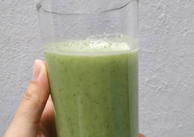 Green Smoothie / Jus Hijau Seger 😎