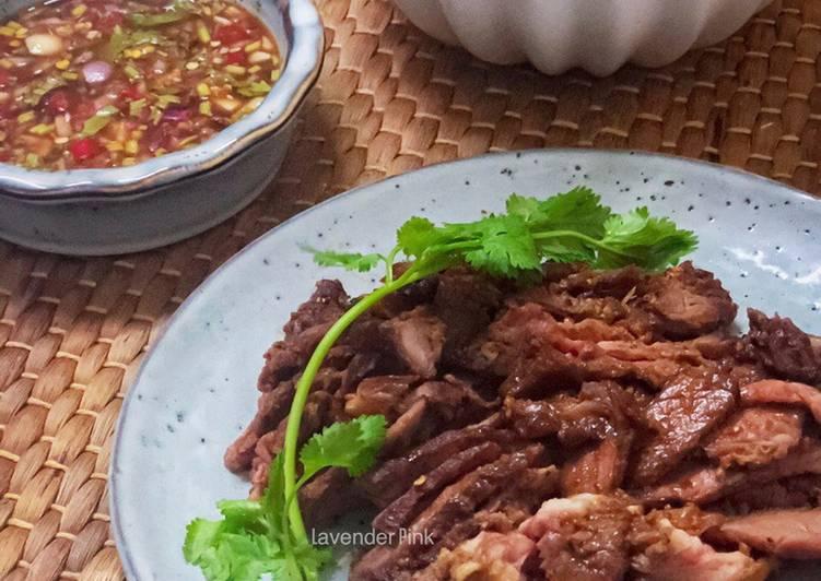 Daging Bakar dan Sos ala Thai - resepipouler.com