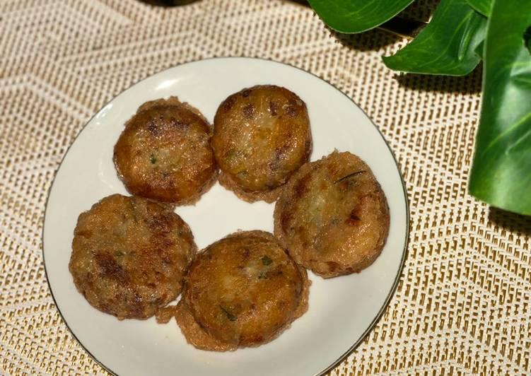 Perkedel kentang daging cincang anti gagal 🤗🤗