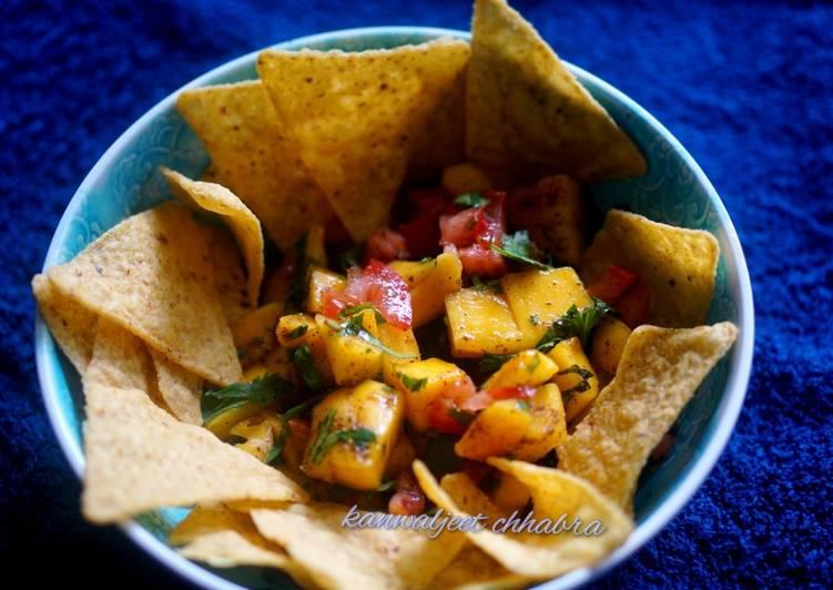 Recipe of Favorite Mango salsa