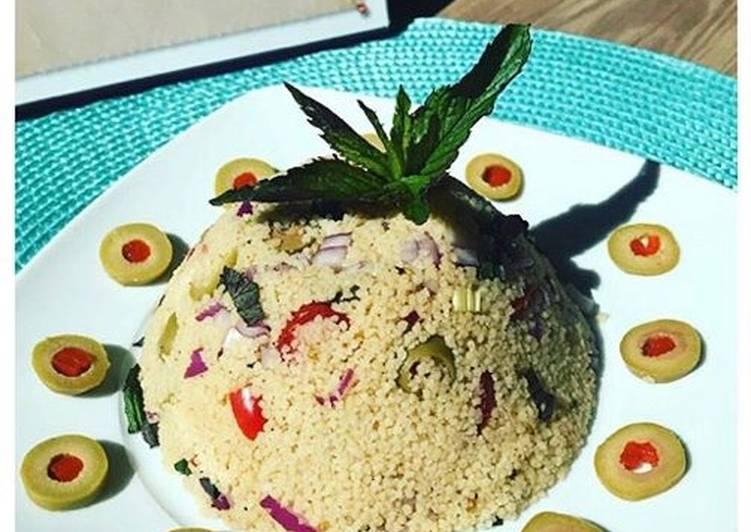 Recipe: Delicious Couscous Salat mit Minze