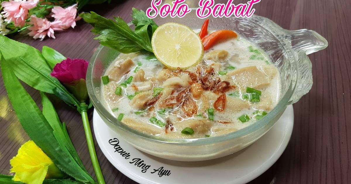 310 resep soto babat enak dan sederhana - Cookpad