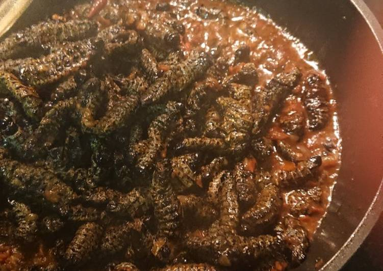 Step-by-Step Guide to Make Award-winning Mopane worms