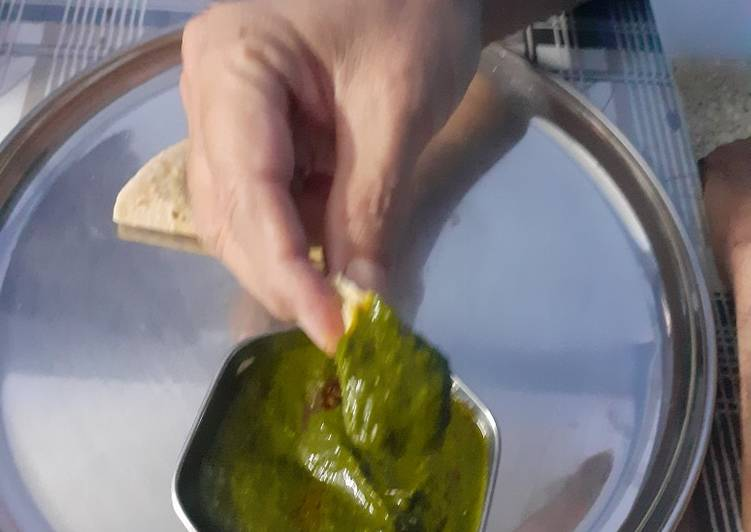 How to Cook Delicious Garlic palak