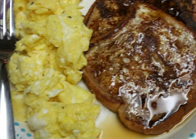 Recipe: Appetizing French Toast with Pumpkin Pie Spices