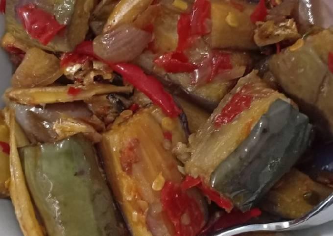 Cara Mudah Membuat Terong teri sambel bawang merah Anti…