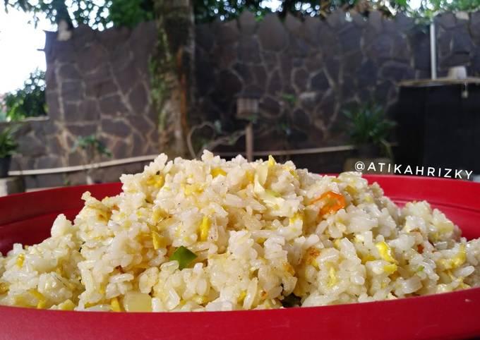 Nasi Goreng Margarin Keju
